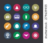 accessories icons universal set ... | Shutterstock . vector #279639455