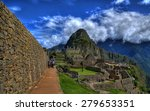 the machu picchu in hdr | Shutterstock . vector #279653351