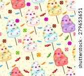 children's seamless pattern... | Shutterstock .eps vector #279653651
