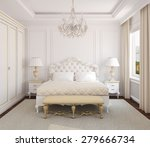 Classical White Bedroom...