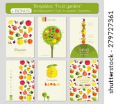 a set of templates for... | Shutterstock .eps vector #279727361