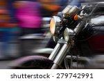 Motorcycle Rushing At City...