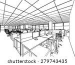 outline sketch drawing... | Shutterstock .eps vector #279743435