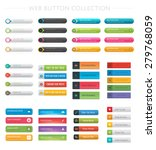 web button collection | Shutterstock .eps vector #279768059