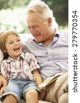 grandfather with grandson... | Shutterstock . vector #279770354