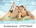 portrait of two young women... | Shutterstock . vector #279770669