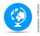 geography school earth globe... | Shutterstock .eps vector #279821621