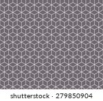 seamless inverse black and... | Shutterstock .eps vector #279850904