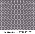 seamless inverse black and... | Shutterstock . vector #279850907