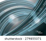 abstract silver shiny... | Shutterstock .eps vector #279855371