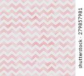 pink watercolor chevron pattern ... | Shutterstock . vector #279857981