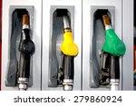 petrol  diesel  heating oil... | Shutterstock . vector #279860924