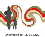 family at shopping mall | Shutterstock . vector #27986207