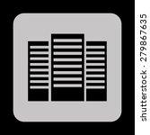 data center icons design ...   Shutterstock .eps vector #279867635