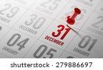 december 31 written on a... | Shutterstock . vector #279886697