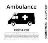 ambulance car icon. ambulance... | Shutterstock .eps vector #279890189