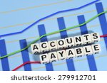 Small photo of Business Term with Climbing Chart / Graph - Accounts Payable