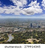 Aerial View Towards Melbourne'...