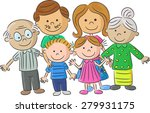 complete family care... | Shutterstock . vector #279931175