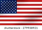 american flag   Shutterstock .eps vector #279938921