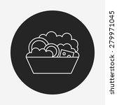 salad line icon | Shutterstock .eps vector #279971045