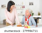 care worker | Shutterstock . vector #279986711