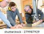 Small photo of Woodwork apprenticeship