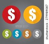 vector   circle dollar currency ...