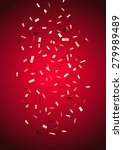 red vertical background with... | Shutterstock .eps vector #279989489