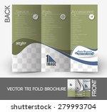 automobile center back tri fold ... | Shutterstock .eps vector #279993704