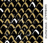 vector seamless pattern with... | Shutterstock .eps vector #279998495