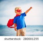 superhero kid | Shutterstock . vector #280001255