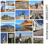 Travel Collage From Spain....