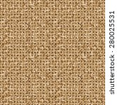 jute fabric vector seamless... | Shutterstock .eps vector #280025531