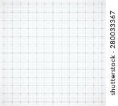 gray square grid on white... | Shutterstock .eps vector #280033367