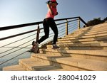 healthy lifestyle sports woman... | Shutterstock . vector #280041029