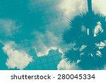 Cloud Shadow On Pool Water  ...