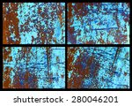 grunge background | Shutterstock . vector #280046201