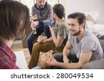 good time with the best friends | Shutterstock . vector #280049534