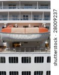 a cruise ship lifeboat  concept ... | Shutterstock . vector #28009237