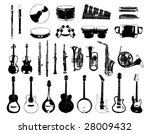musical instrument | Shutterstock .eps vector #28009432