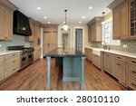 kitchen in new construction... | Shutterstock . vector #28010110