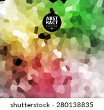 abstract colorful mosaic... | Shutterstock .eps vector #280138835