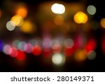 Abstract Bokeh Background Of...