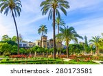 gardens of museum of arts and... | Shutterstock . vector #280173581