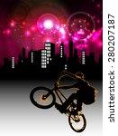 bmx rider | Shutterstock . vector #280207187