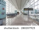 empty airport lounge | Shutterstock . vector #280207925