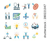 mentoring and personal skills... | Shutterstock .eps vector #280221347