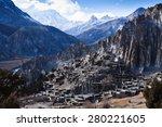 Himalaya Mountains In Nepal ...