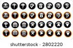 miscellaneous web icons | Shutterstock . vector #2802220